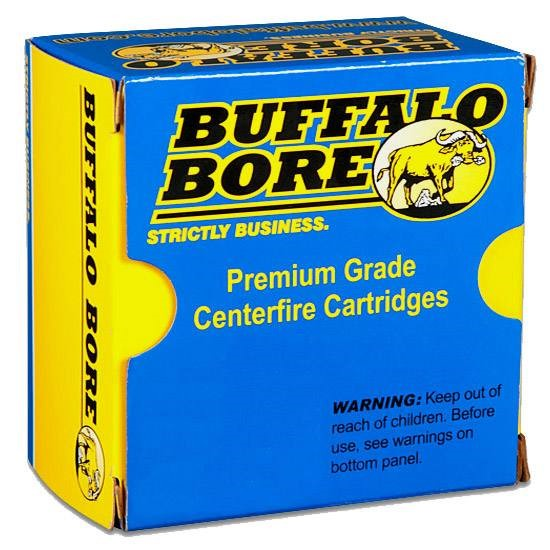 BUFFALO BORE Ammunition .45 LC +P AMMO (20 ROUNDS)