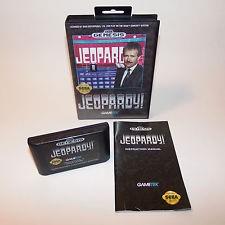 SEGA Vintage Game JEOPARDY