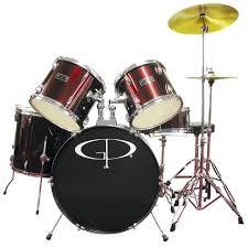 GP PRECUSSION Drum Set GP55