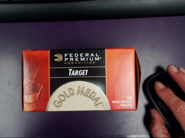 FEDERAL AMMUNITION Ammunition .22 CAL LONG RIFLE 40 GRAIN 500 ROUNDS