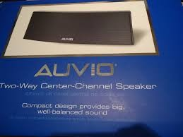 AUVIO SPEAKER CENTER CHANNEL 2-WAY 4000462