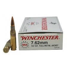 WINCHESTER Ammunition 7.62X51