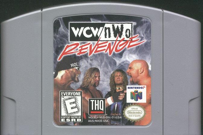 NINTENDO Nintendo 64 Game WCW/NWO REVENGE