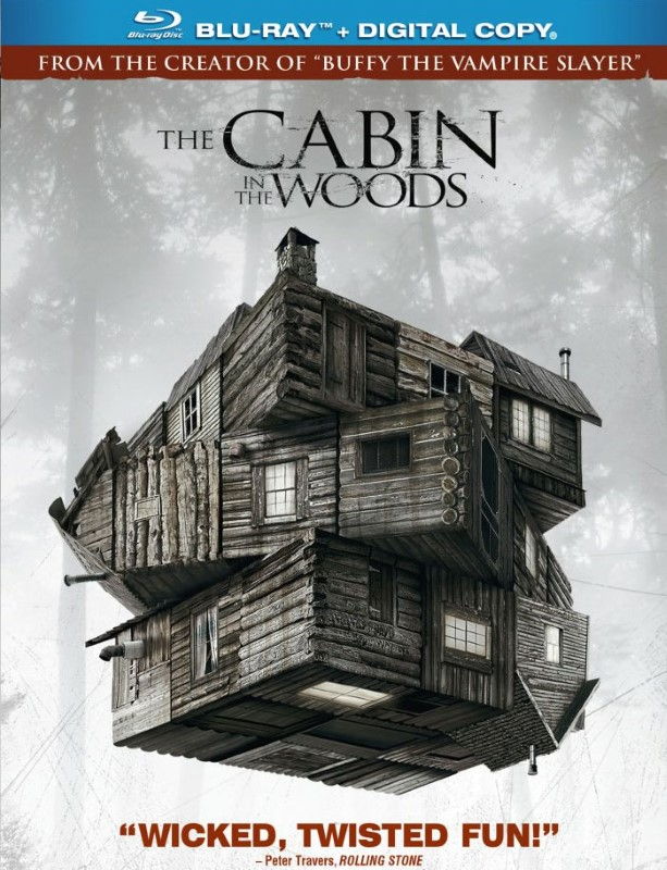 BLU-RAY MOVIE Blu-Ray THE CABIN IN THE WOODS