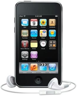 APPLE IPOD IPOD MC086LL TOUCH 3RD GEN