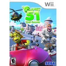 NINTENDO Nintendo Wii Game PLANET 51 THE GAME