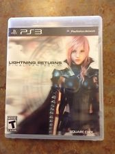 SONY PS3 PlayStation 3 Game LIGHTNING RETURNS FINAL FANTASY XIII