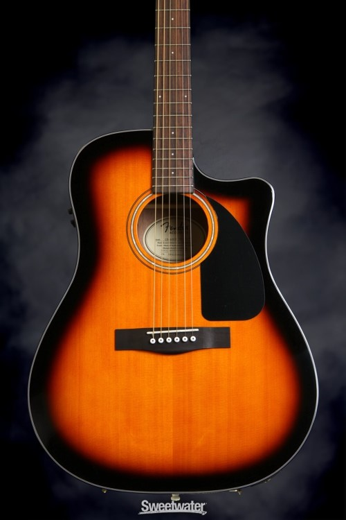 FENDER Electric-Acoustic Guitar CD60CE SB