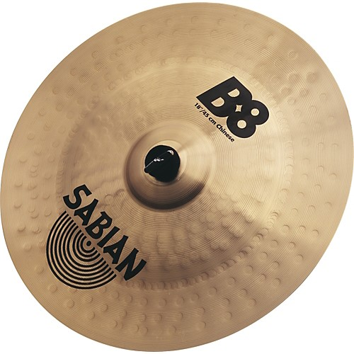 """SABIAN Cymbal B8 18"""" CHINESE"""