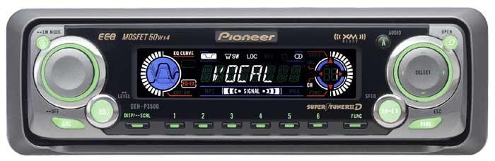 PIONEER ELECTRONICS Car Audio DEH-P3500