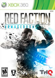 MICROSOFT Microsoft XBOX 360 Game RED FACTION ARMAGEDDON