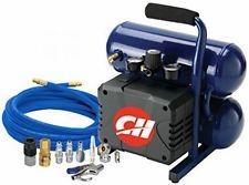 CAMPBELL HAUSFELD Air Compressor TWIN TANK 2 GALLON