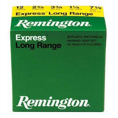 "REMINGTON FIREARMS & AMMUNITION Ammunition EXPRESS 3"" LONG RANGE 410GA"