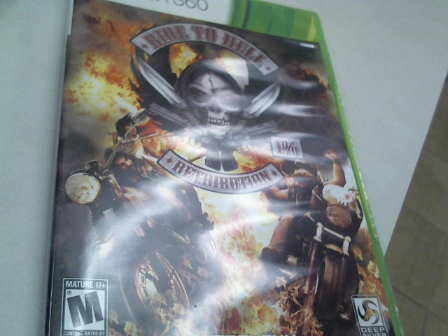 MICROSOFT Microsoft XBOX 360 Game RIDE TO HELL RETRIBUTION