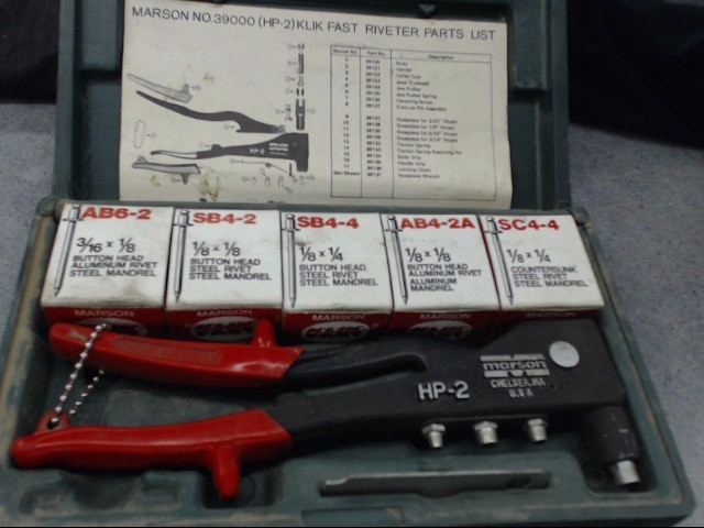 MARSON CORPORATION Miscellaneous Tool HP-2