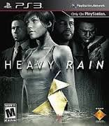 SONY Sony PlayStation 3 HEAVY RAIN PS3