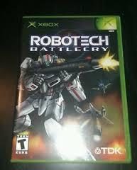 MICROSOFT Microsoft XBOX ROBOTECH BATTLECRY