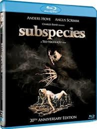 BLU-RAY MOVIE Blu-Ray SUBSPECIES