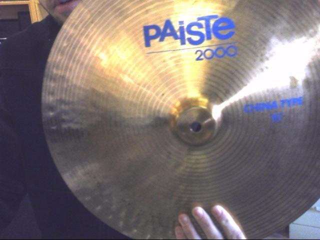 PAISTE Cymbal 2000