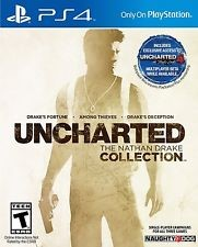SONY Sony PlayStation 4 Game UNCHARTED THE NATHAN DRAKE COLLECTION - PS4