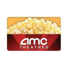 $25.00 AMC THEATRES GIFT CARD