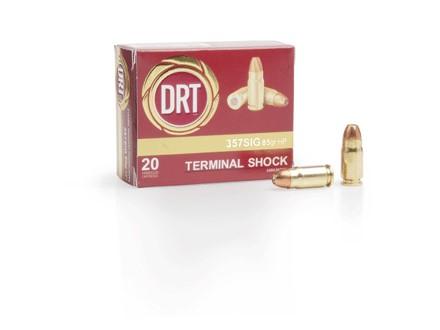DRT AMMUNITION Ammunition 357 SIG