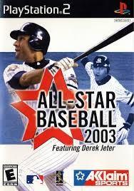 SONY Sony PlayStation 2 Game ALL STAR BASEBALL 2003