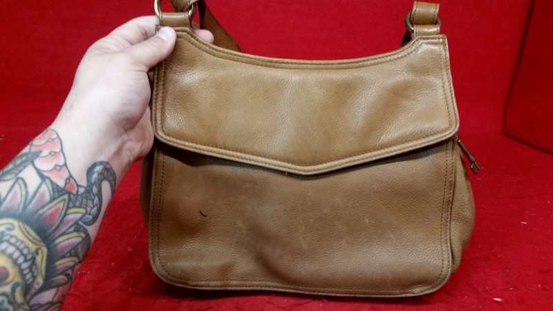 Fossil Brown Leather Women's Purse