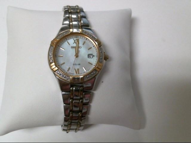 SEIKO Lady's Wristwatch V137-OADO