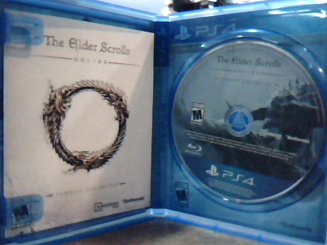 SONY Sony PlayStation 4 Game THE ELDERS SCROLLS ONLINE - PS4