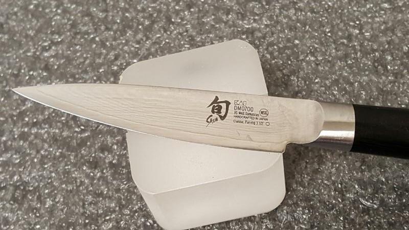 "Shun 3 1/2"" Classic Pairing Damascus Knife"