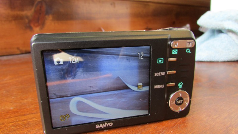 SANYO Digital Camera VPC-X1200
