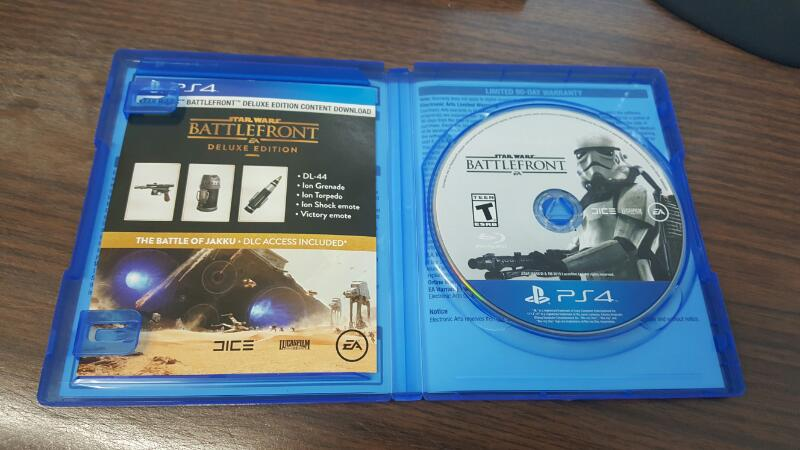 Star Wars Battlefront - Deluxe Edition (Sony PlayStation 4) PS4