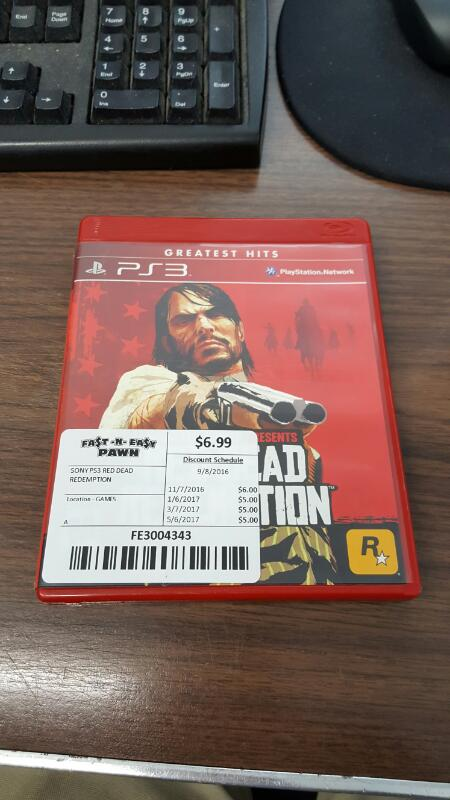 Red Dead Redemption (Sony PlayStation 3, 2010) PS3
