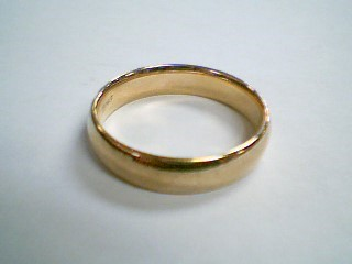 Gent's Gold Wedding Band 14K Yellow Gold 7.9g