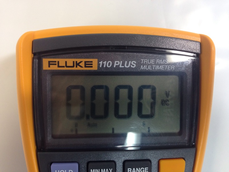 Fluke 110 Plus True RMS Multimeter w/ Leads