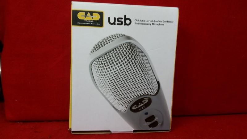 CADA-U37SEG-CAD Audio U37SE-G U37 USB Cardioid Condenser Studio Recording Micro