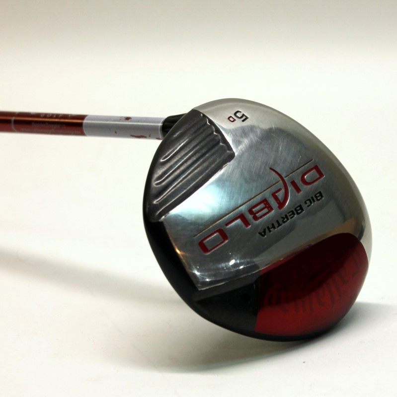 CALLAWAY BIG BERTHA DIABLO 5D LEFT HAND FAIRWAY 5 WOOD 60G REG FLEX>