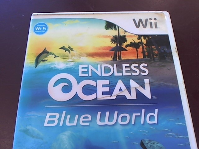 WII - ENDLESS OCEAN BLUE WORLD