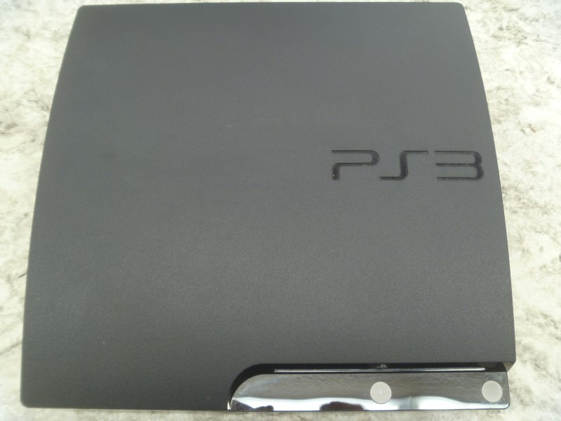 SONY CECH-2001B 250GB SLIM PLAYSTATION 3 WITH CONTROLLER/AV/POWER/CHARGE CORD