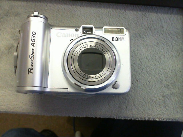 CANON Digital Camera POWERSHOT A630