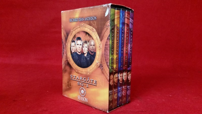 STARGATE SG 1 SEASON 6 (DVD, 2004, 5-Disc Set)