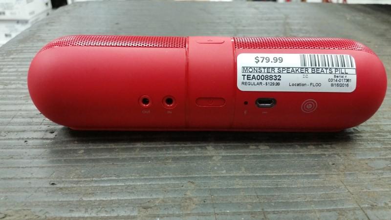 MONSTER DR DRE BEATS PILL 2.0 B0513 RED