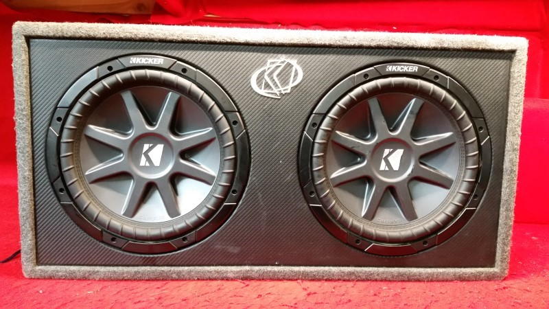 "Kicker Comp VR 12"" Subwoofer w/ Box"