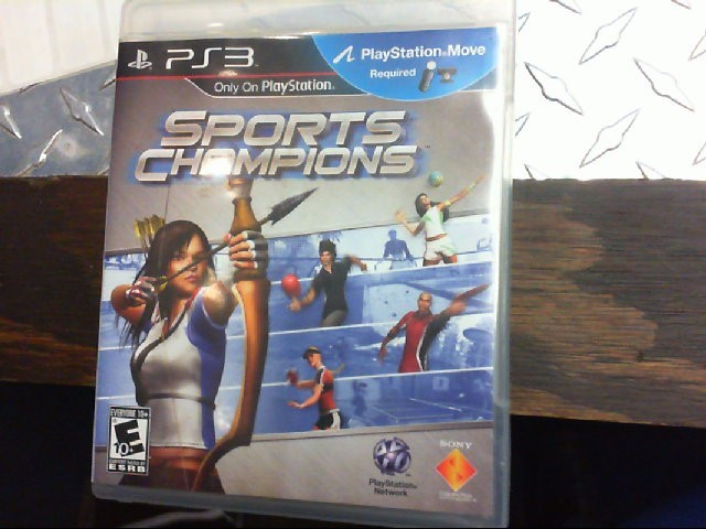 SONY PS3 GAME - SPORTS CHAMPIONS