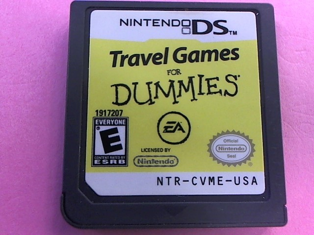 NINTENDO DS - TRAVEL GAMES FOR DUMMIES