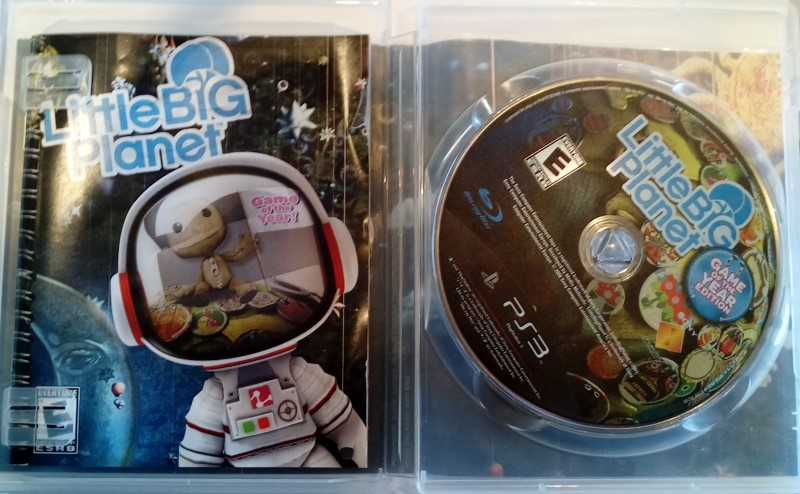 PS3 LITTLE BIG PLANET - SONY PLAYSTATION 3