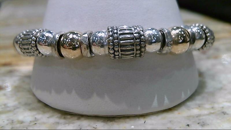 Silver Silpada Bead Fashion Bracelet 925 Silver 37.9g
