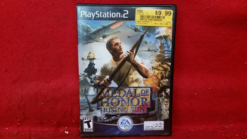 Medal of Honor Rising Sun (PS2, Playstation 2)