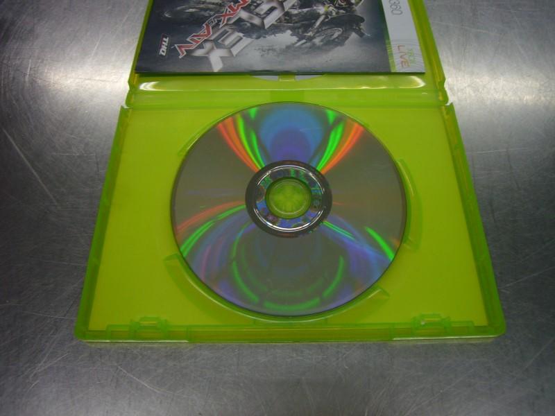 MICROSOFT XBOX 360 Game REFLEX MX VS ATV